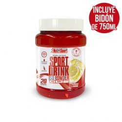 Sport Drink Powder 20 + bidón  limon