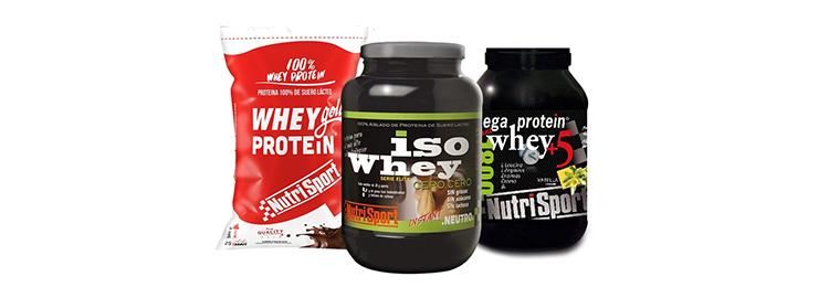 Proteína de Whey NutriSport