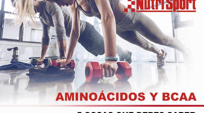 Aminoácidos y BCAA