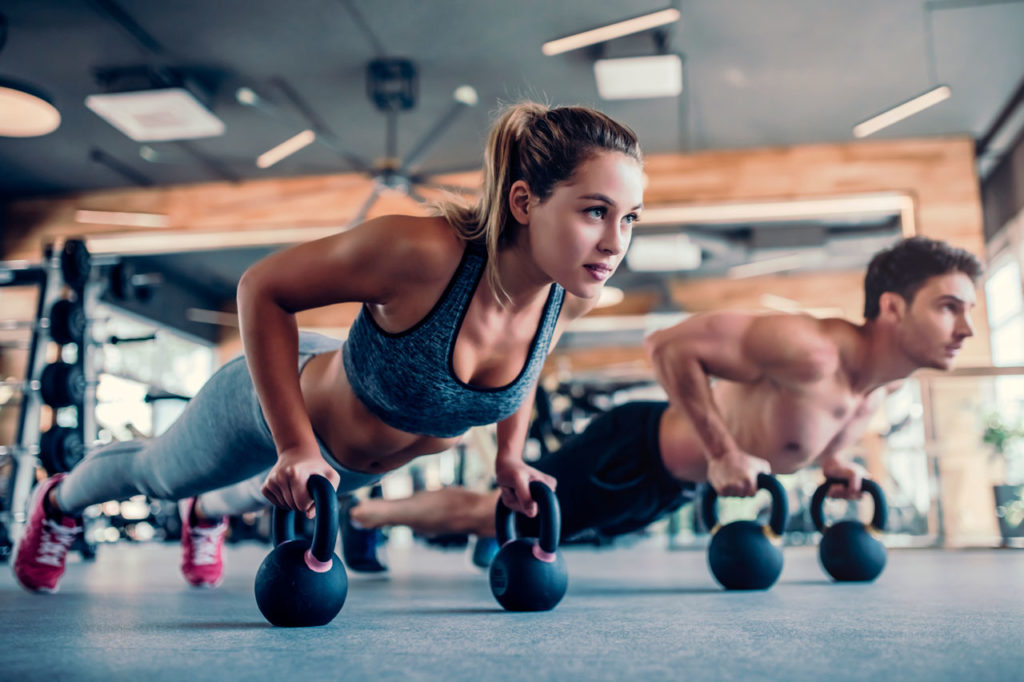 masa muscular y reducción de la grasa corporal