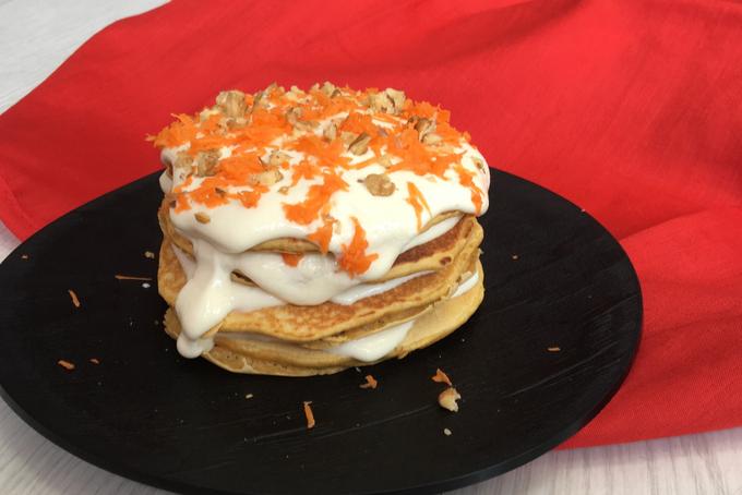 Recetafit: Carrot pancake - Receta saludable NutriSport