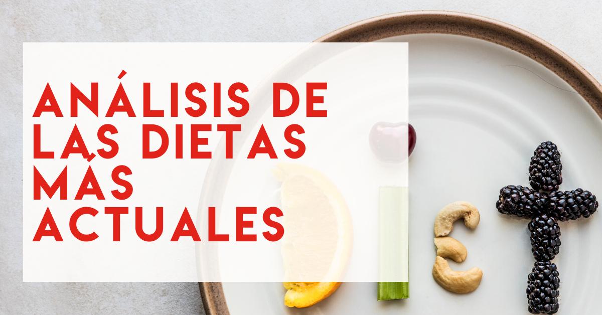 Webinar NutriSport: Análisis de las dietas más actuales