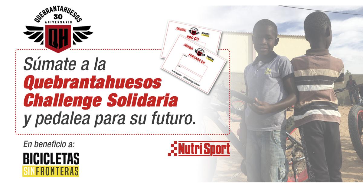 Nutrisport Quebrantahuesos challenge week solidaria